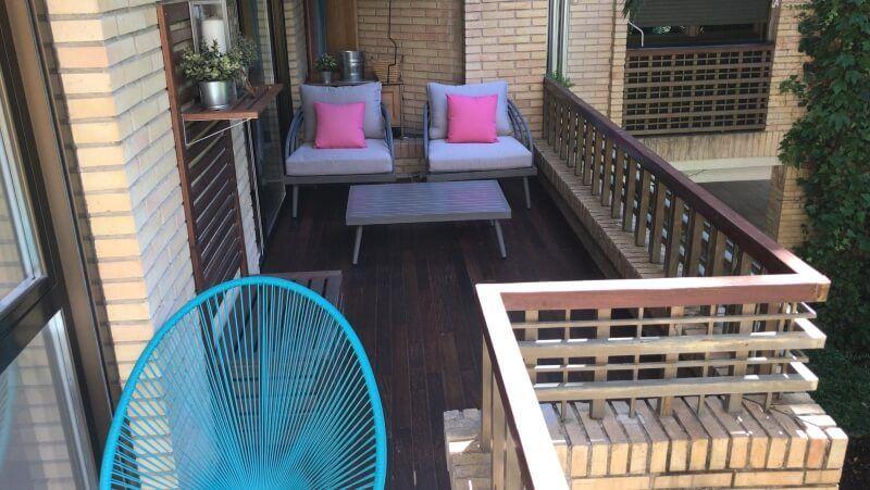 Instalación de tarima para terrazas en Madrid