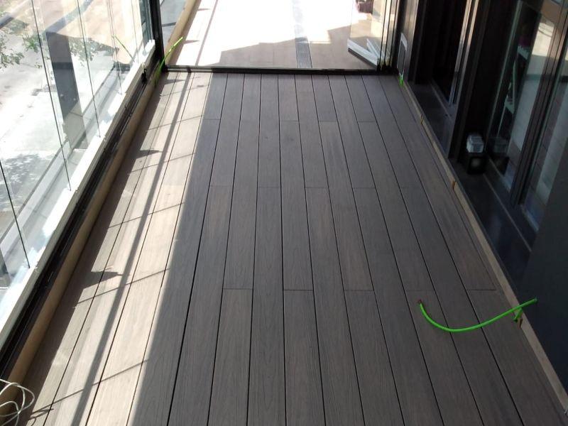 Instalación de tarima de terraza en Hortaleza (Madrid)