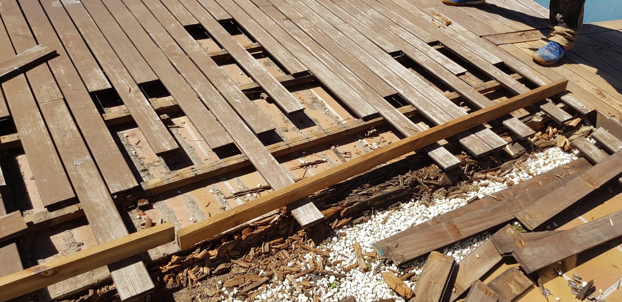 Mantenimiento y Reparación de Tarima IPE de Madera en la Moraleja